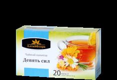 Чайные напитки из дикорастущего сырья