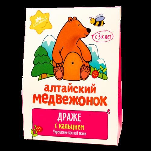 «Алтайский медвежонок» с кальцием