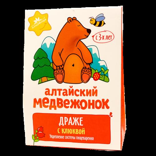«Алтайский медвежонок» с клюквой