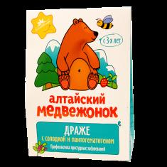 «Алтайский медвежонок» с солодкой и пантогематогеном