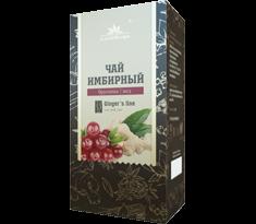 Имбирный чай с брусникой и медом